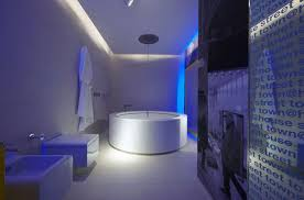 hotel interior architecture with amazing led lights ideas