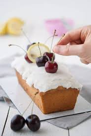 veganer zitronen kirschkuchen