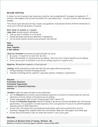 Resume For Career Change With No Experience From Objective Statement Examples