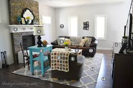 Grey And Turquoise Living Room Decor by Our U201crustic Glam Farmhouse U201d Living Room U2013 Our Diy House The Diy