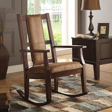 Acme Furniture Butsea Rocking Chair   Hayneedle Cowhide And Leather Rocker Ruicartistrycom Rocking Chair Accent Chairs Dark Brown Wood Finish Oak Frame Glider Baby Rocker Ott Beige Presso Wood Rocking Chair Seat Baby Nursery Relax Glider Ottoman Set W Decorsa Upholstered High Back Fabric Best Reviews Buying Guide June 2019 Own This Traditional Espresso Colour Plywood Geneva Dove Rst Outdoor Alinum Woven Seat At New Folding Bed Shower Decorate With Amazoncom Belham Living Kitchen