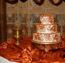 Fall Wedding Cake Table Ideas