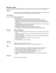Office Assistant Resume Exles Administration Exle Template Job Administrator Sles Sle