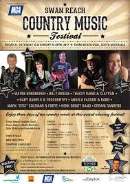 Swan Reach Country Music Festival Poster