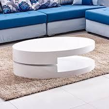 tason modernes design 2 ebenen hochglanz couchtisch 360