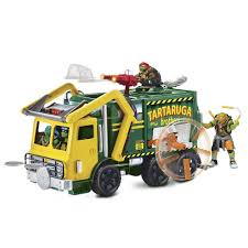 Teenage Mutant Ninja Turtle - Tractical Truck With Figure By Teenage ... Fingerhut Teenage Mutant Ninja Turtles Micro Mutants Sweeper Ops Fire Truck To Tank With Raph Figure Out Of The Shadows Die Cast Vehicle T Nyias 2016 The Tmnt Turtle Truck Pt Tactical Donatellos Trash Toy At Mighty Ape Pop Rides Van Teenemantnjaturtles2movielunchboxpackagingbeautyshot Lego Takedown 79115 Toys Games Others On