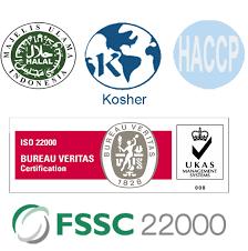 logo bureau veritas certification achievement hydrocolloid indonesia