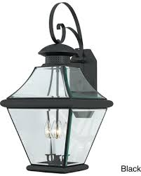 fall savings on quoizel rutledge 2 light outdoor wall sconce