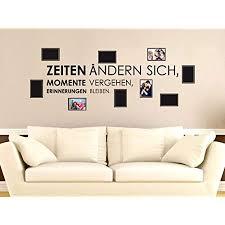 grazdesign deko wohnzimmer modern bilderrahmen fotos