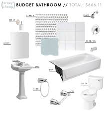 Pinterest Bathroom Ideas On A Budget by The Most Affordable Bathroom Makeover Ever My Style Pinboard