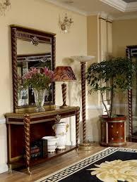 konsolen tisch möbel set konsole barock rokoko kommode mit spiegel luxus klasse