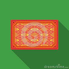 Turkish Carpet Icon In Flate Style Isolated On White Background Turkey Symbol Stock Vector Illustration Cartoon