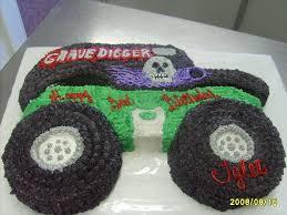 100 Monster Truck Cake Pan Grave Digger Birthday Cakes In 2019 Digger Birthday Cake
