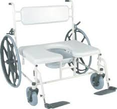 Bariatric Transport Chair 24 Seat by Bariatric Transport Shower Chair