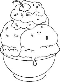 Cartoon Pictures Ice Cream Sundaes