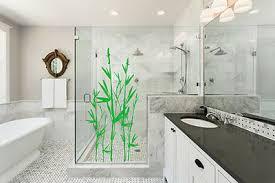 wandtattoo asien bambus badezimmer duschkabine wandaufkleber
