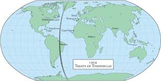 Treaty Of Tordesillas Facts Worksheets For Kids