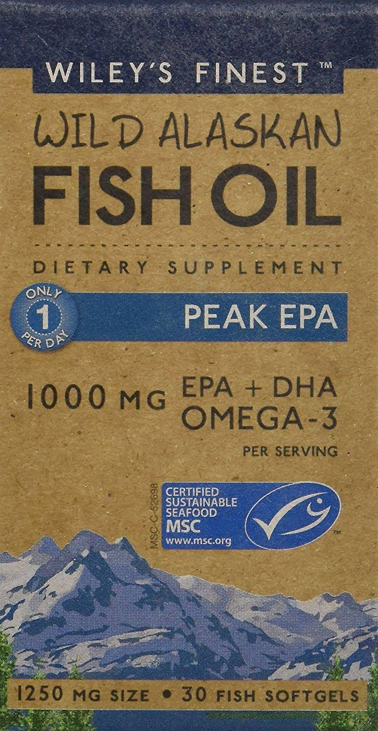 Wiley's Finest Peak EPA - 30 Capsules