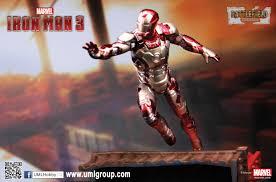 100 Hk Mark 24 35801 1 Iron Man 3 42 XLII Ver 1 Model Kit