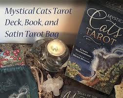 cats on deck mystical cats tarot by mysticalcatstarot on etsy