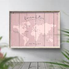 Where It All Began Travel Map She Said Yes Poster