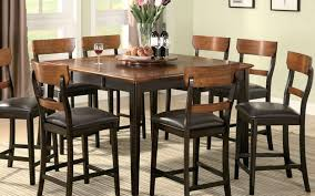 Dining Table Tall Chairs Elegant Room