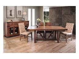 International Furniture Direct Parota Formal Dining Room Group
