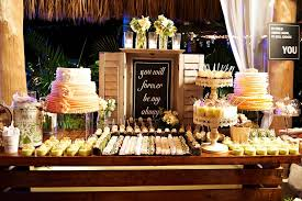 Dessert Table Ideas For Your Wedding Reception