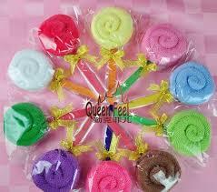 großhandel goldband lollipop handtuch kuchen wedding gegengeschenk 8 farben 28g bruce888 7 66 auf de dhgate dhgate