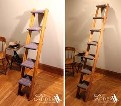 cat stairs give kitty own ladder to climb hauspanther