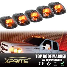 Xprite 5pcs Black Smoked LED Roof Top Truck Cab Marker Running ... 5pcslot Yellow Car Side Marker Light Truck Clearance Lights Cheap Rv Find Deals On Line 2008 F150 Leds Strobe All Around Youtube 1 Pcs 12v Waterproof Round Led And Trailer 212 Runningboredswithlights Ford F350 Running Board Trucklite 9057a Rectangular Signalstat Replacement Lens For Blazer Intertional 34 In Clearanceside Chevrolet Silverado 2500hd Questions Gm Roof Kit