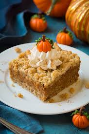 Storing Pumpkin Pie by Pumpkin Pie Bars Made By The Shabby Cottage In Oregon City