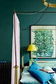 teal blue bedroom wall paint colour ideas houseandgarden co uk