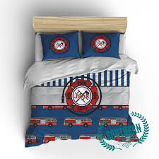 Personalized Boy Firetruck Bedding Set Mysouthernbasic Wonderful ...