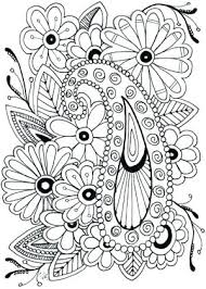 Color Pages For Adults Adult Flower Coloring Google Flowers Throughout Printable Of 6