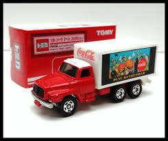 100 Disel Truck TOMICA COCACOLA 1 NISSAN DIESEL TRUCK 1102 TOMY DIECAST CAR NEW
