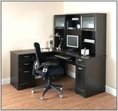 Small Corner Desk Office Depot by Office Desk Desks Office Depot Walker 3 Piece Corner Desk Black