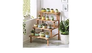 multi tier innen außen garten treppen pflanze stehen