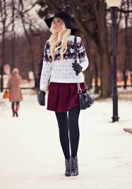 16 Stylish Ways To Wear A Skater Skirt This Winter