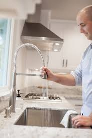 Commercial Style Pre Rinse Kitchen Faucet by Miseno Mk500 Arliano Commercial Style Pre Rinse Kitchen Faucet