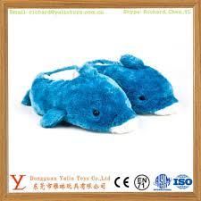 chambre dauphin dauphin en peluche pantoufles en peluche chambre pantoufles
