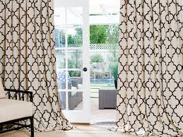 Geometric Pattern Grommet Curtains by Geometric Pattern Drapes Interior Design Exceptional 2 Geometric