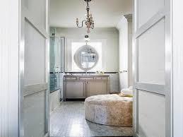 Narrow Master Bathroom Ideas by Bathroom Ottoman Long Narrow Bathroom Design Long Narrow Master