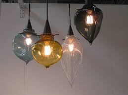 blown glass pendant lights pendant light seeded glass pendant