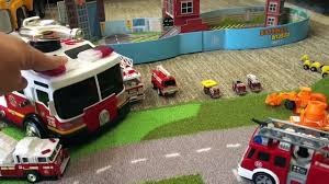 Toy Trucks - FIRE TRUCKS For Kids - FAST LANE Fire Truck Shoots ... Fagus Wooden Toy Fire Truck Amazoncom Little Tikes Spray And Rescue Toys Games Free Antique Buddy L Price Guide City Engine Sos Brands Products Wwwdickietoysde 9 Fantastic Trucks For Junior Firefighters Flaming Fun Large Ladder Amishmade Amishtoyboxcom Green Eco Friendly For Children Memtes Electric With Lights Sirens Concrete Mixer Ozinga Store