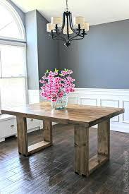 Diy Dining Room Table Ideas Dinning On Farmhouse Centerpiece
