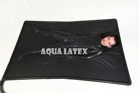 Deflatable Rubber Latex Vacuum Bed Vac bed Head Out with PVC