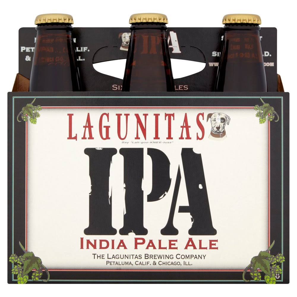 Lagunitas India Pale Ale - 355ml, 6pk