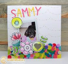 Scrapbook Layout Featuring Chameleon Color Tone Pens