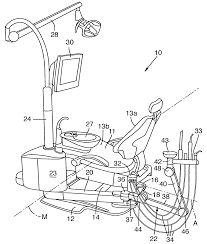 Adec Dental Chair Service Manual by Patent Us7195219 Modular Dental Chair Equipment Mounting System